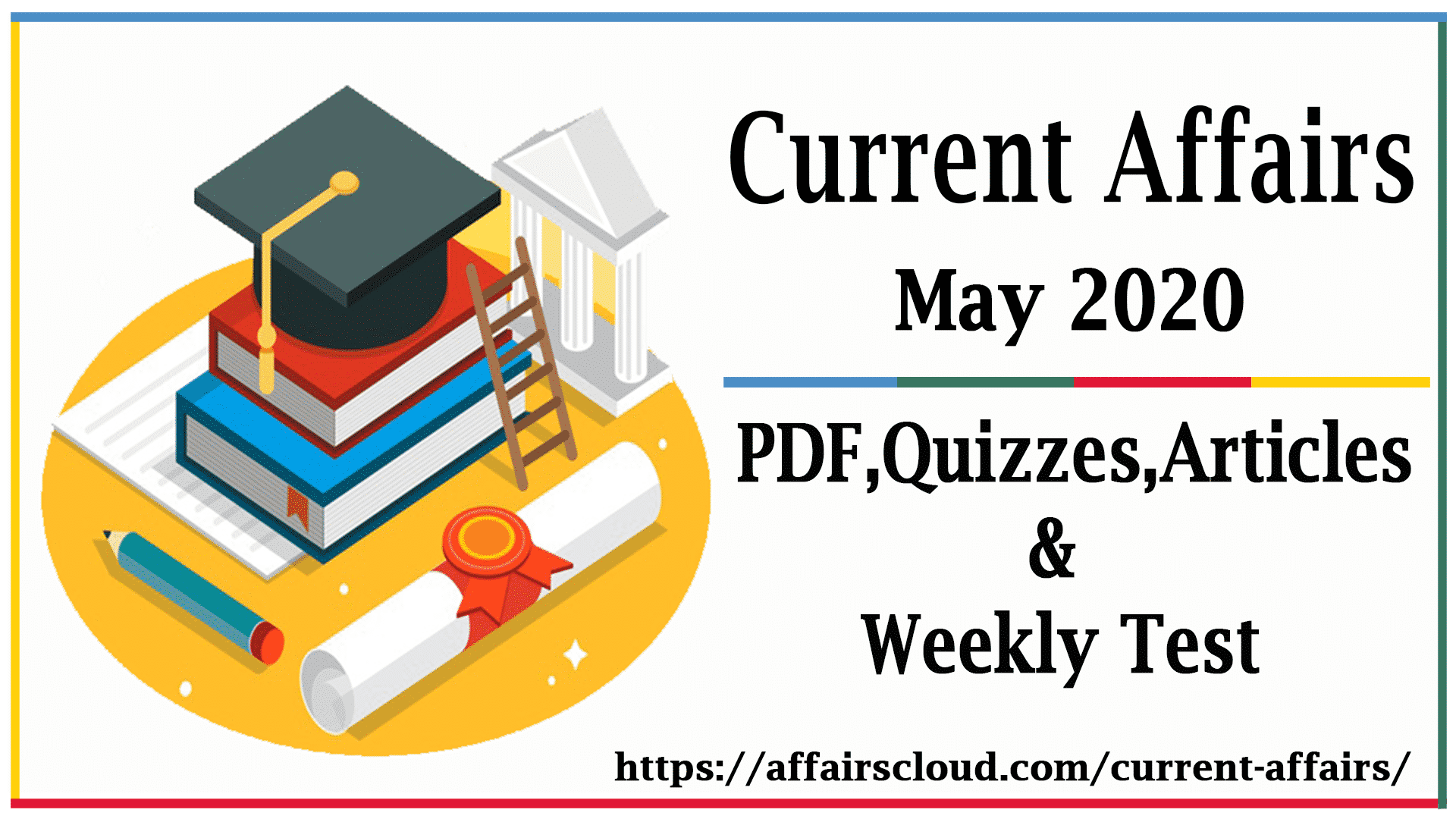 Current Affairs May 2020 PDF