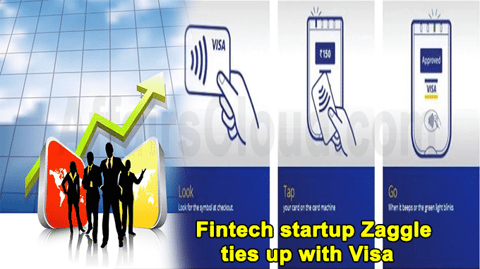 Fintech startup Zaggle ties up with Visa