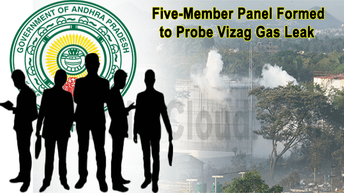 Five-member panel formed to probe Vizag gas leak