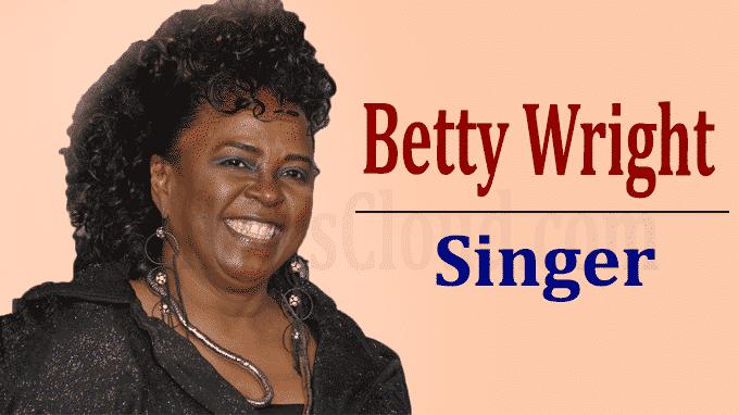 Grammy winning-singer Betty Wright