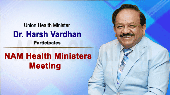 Harsh Vardhan participates in NAM Health Ministers