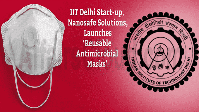 IIT-Delhi startup launches reusable antimicrobial mask NSafe