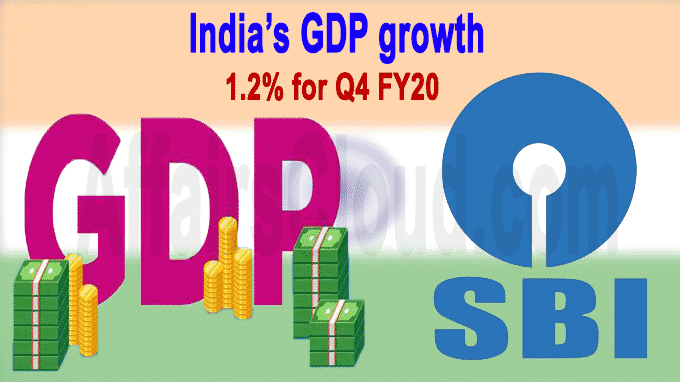 India's GDP growth seen at 1