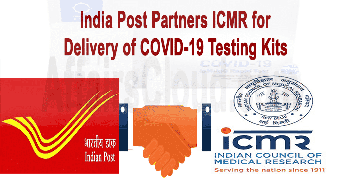 India Post partners ICMR for delivery of COVID-19 testing kits