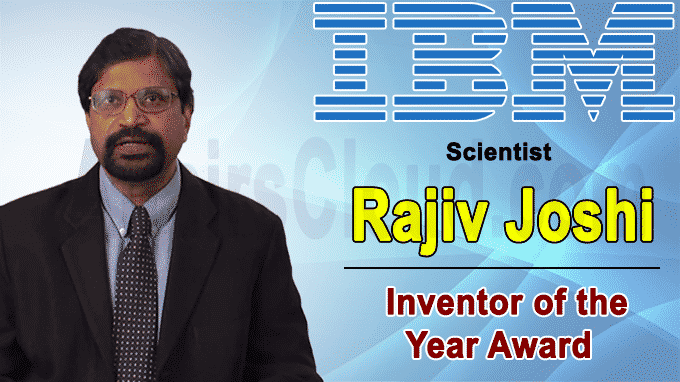 Indian-American IBM scientist Rajiv Joshi bags inventor of the year award