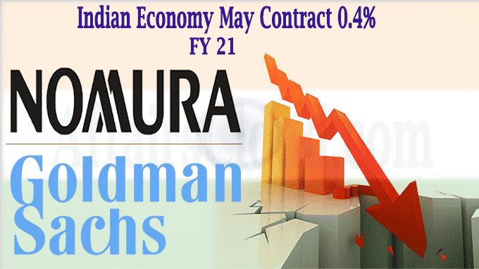 Indian economy may contract 0