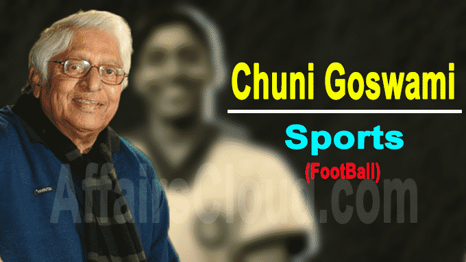 India's football legend Chuni Goswami