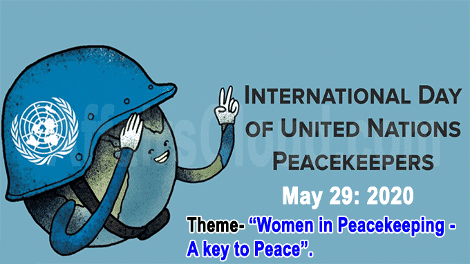 International Day of UN Peacekeepers new