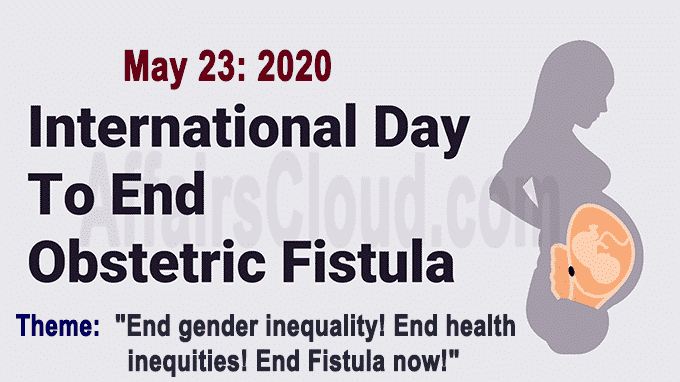 International Day to End Obstetric Fistula 2020