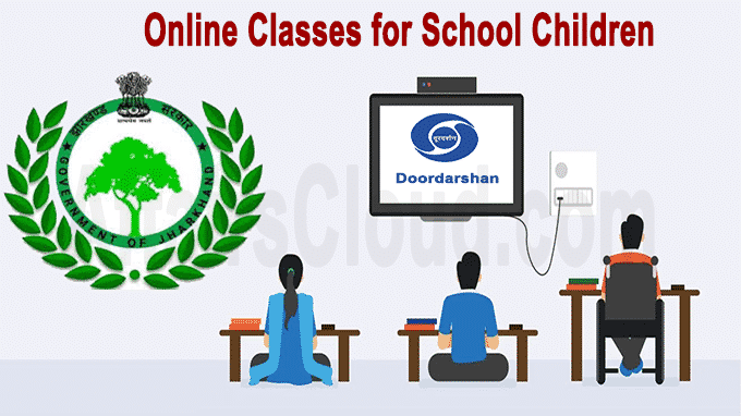 Jharkhand Education dept with Doordarshan starts online classes