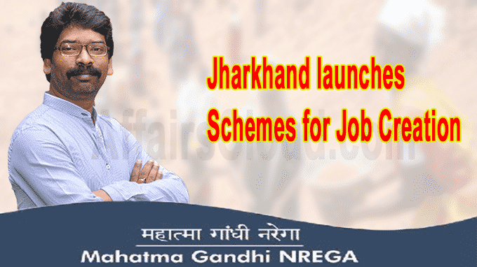 Jharkhand launches schemes for job creation