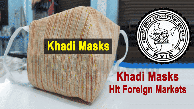 Local to Global Khadi Masks to Hit Foreign Markets