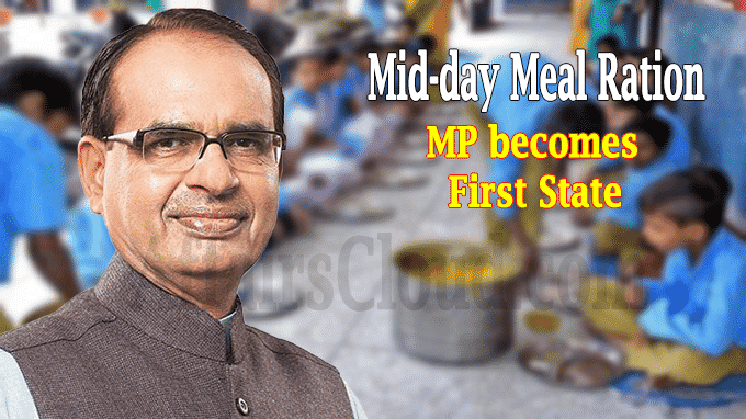 MP first state in country to provide mid-day meal ration
