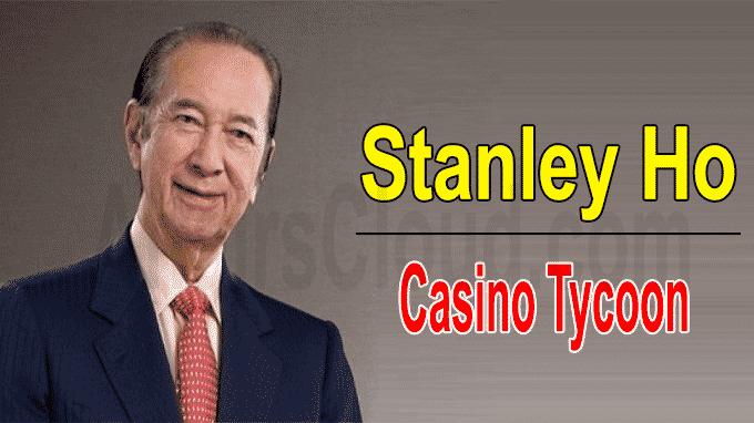 Macau casino tycoon Stanley Ho