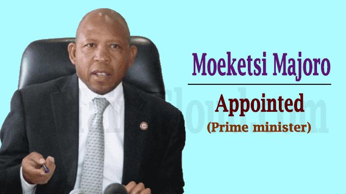 Moeketsi Majoro sworn in as Lesotho's new prime minister