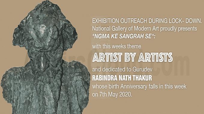 National Gallery of Modern Art presented the virtual program NGMA KE SANGRAH SE