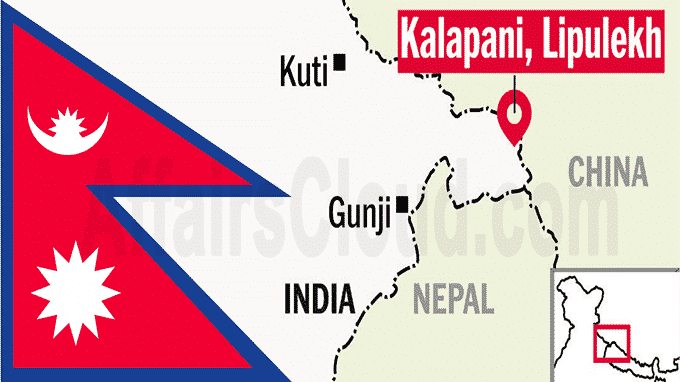 Nepal approves new map