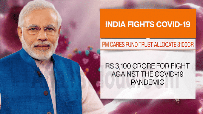 PM CARES Fund Trust Allocates Rs 3100 Crore