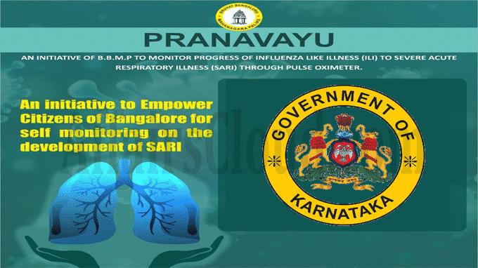 Pranavayu to monitor ILI patients launched Karnataka