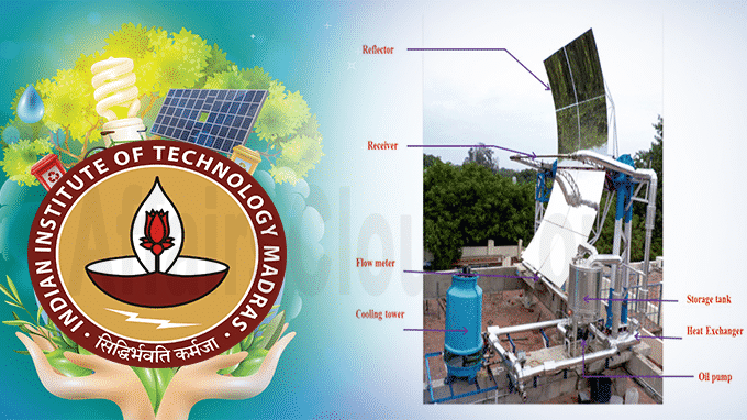 Researchers at IIT-M develop solar parabolic trough collector