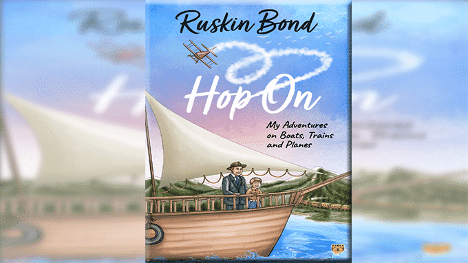 Ruskin Bond's new book Hop On