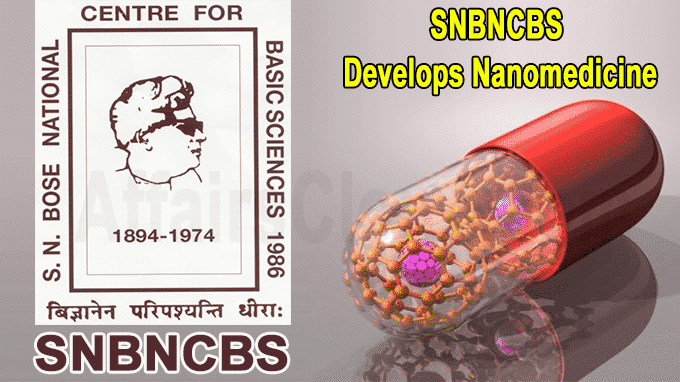 SNBNCBS develops Nanomedicine