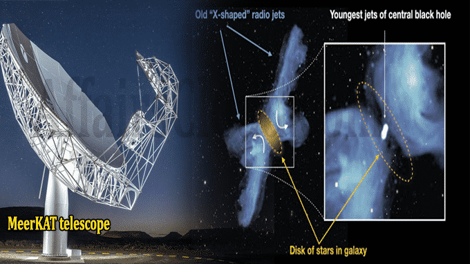 South Africa's MeerKAT solves mystery of 'X-galaxies'