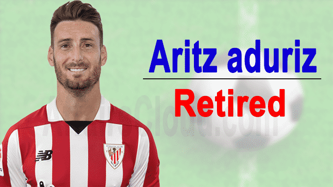 Spanish footballer Aritz Aduriz announces retirement