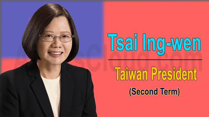 Taiwan President Tsai Ing-wen Begins Her Second Term