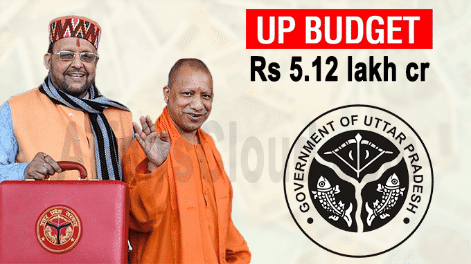 UP govt presents Rs 5
