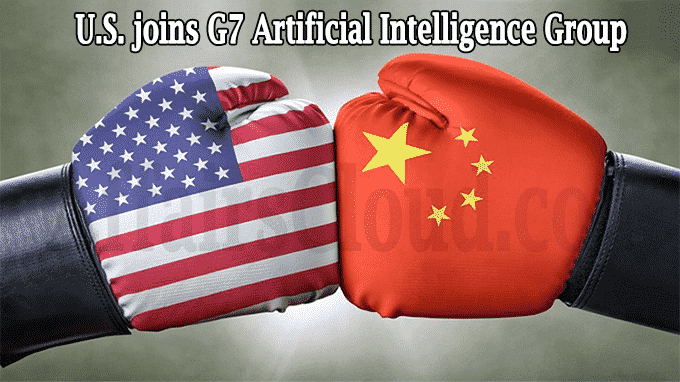 US joins G7 artificial intelligence group