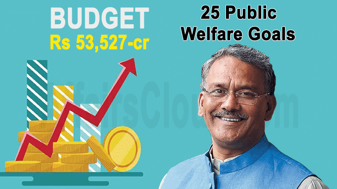 U''khand CM Rawat tables Rs 53,527-cr budget