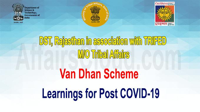 Van Dhan Scheme learnings for post COVID-19