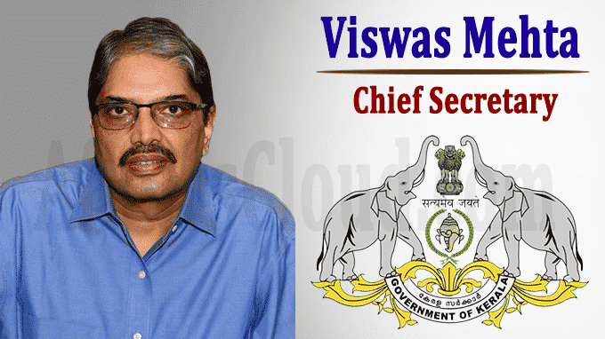 Vishwas Mehta is new Chief Secretary