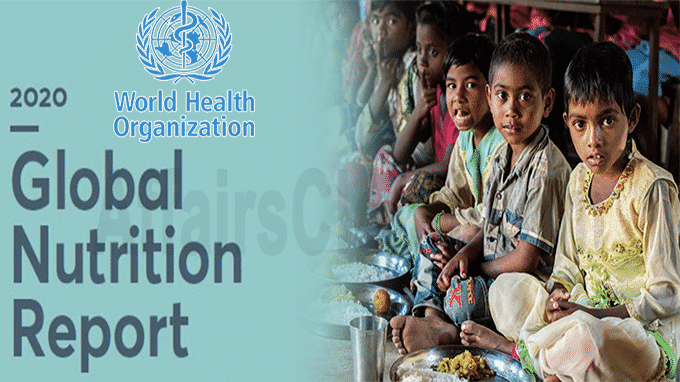 WHO's Global Nutrition Report 2020