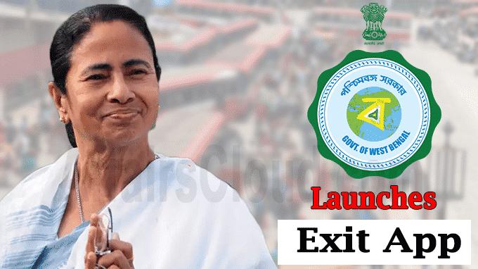 West Bengal govt launches exit app new