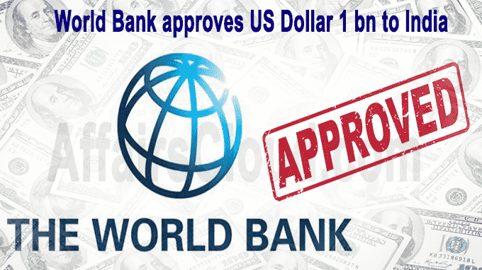 World Bank approves USD 1 bn