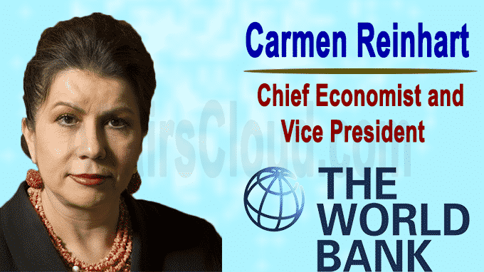 World Bank names Carmen Reinhart as chief economist