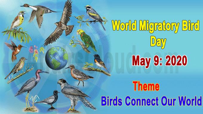 World Migratory Bird Day 2020
