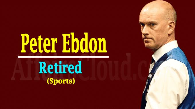 World Snooker Champion Peter Ebdon new
