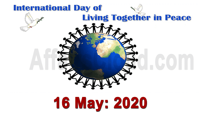 World celebrates International Day of Living Together in Peace