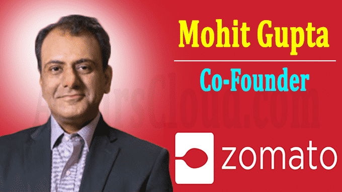 Zomato elevates food-delivery CEO Mohit Gupta as founder