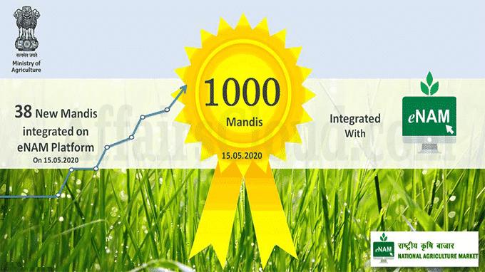 e-NAM reaches milestone of 1000 Mandis
