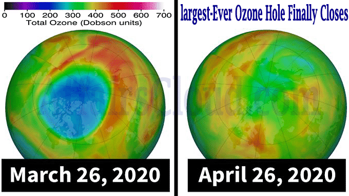 largest-ever ozone hole finally closes