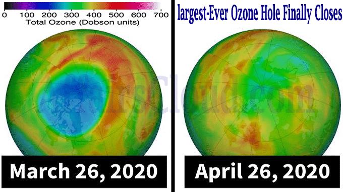 largest-ever ozone hole finally closes