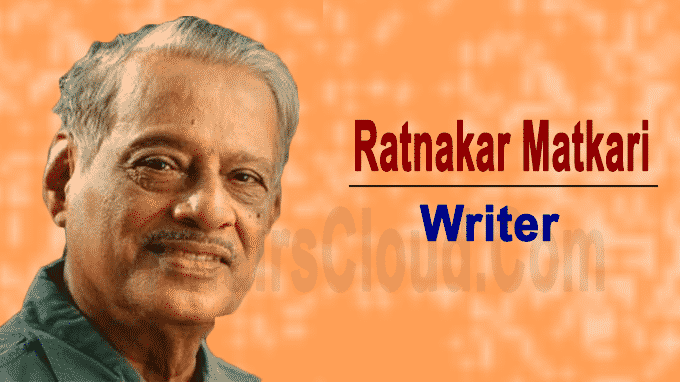 playwright Ratnakar Matkari dead