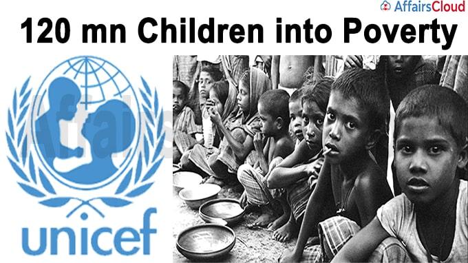 120 mn children into poverty
