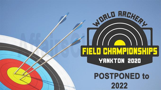 2020 World Archery Field Championships postponed to 2022