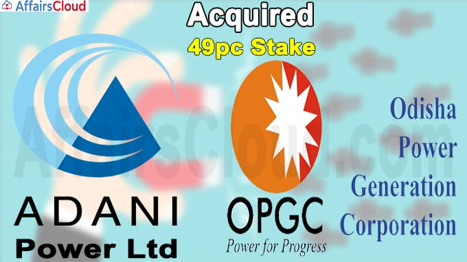 Adani Power to acquire 49pc stake