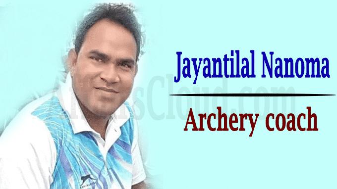 Archery coach Jayantilal Nanoma